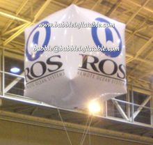 helium balloon with custom brand printing for advertising