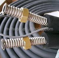 Solar water heater with hose pipe for solar system
