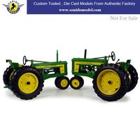 custom made john deere promotional die cast tractors 1:36,die cast tractor toy