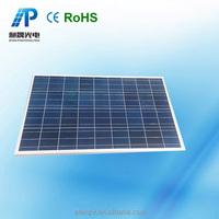 potable solar 100w 18v solar panel in solar system