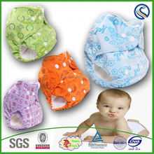 2015happyflute baby cloth diaper with round wings factory, reusable,one size fits all,THX organic nappy, wholesaler