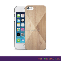 Top Sale Cell Phone Case Cover For iPhone 6, Wholesale Case flip wood leather cases for iphone5 5s