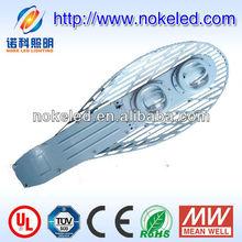 net shape highly abstracting heat IP65 COB 100W solar LED street light