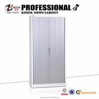 Modern office furniture steel filing cabinet / rolling shutter door storage cabinet