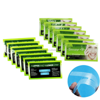 Home use cosmetic teeth whitening strips