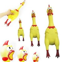 Venting toy shrilling chicken