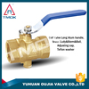 brass ball valve with forged manufacturer mini electric motorized floating 3 way and full port and CE approved
