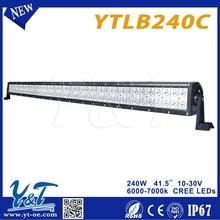 Y&T high quality remote control RGB flashing bar light for 4wd,led work bar light,Remote controlled china led light bars
