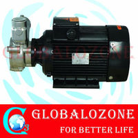 Up to 80% high efficiency mix pump with tank for mixing ozone into water