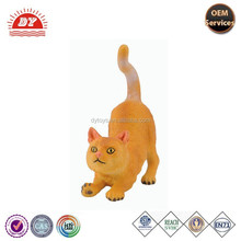 Custom plastic toys cat toys free samples