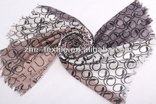 100% cashmere printing pashmina scarf