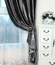 2015 polyester velvet drape for window curtain heavy velvet curtain panel