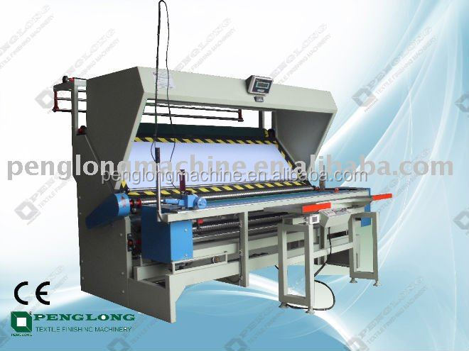 2015 newest Textile Rolling Inspection Machine for printing and dyeing factory