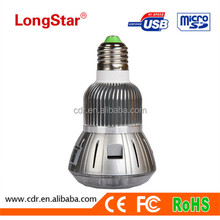New Arrival Indoor Security Device 1080P Wireless P2P Long Time Recording Hidden Camera Light Bulb T88