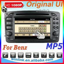 High quality car tv dvd gps for M/ML W163 car audio auto dvd gps