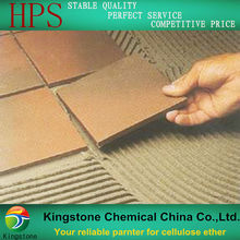starch ether, cellulose ether and RDP for cement based tile adhesive