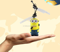Mini rc flying insect toy ufo 2 ch flying ufo toy