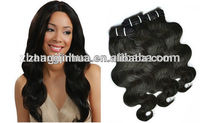 1b# color virgin chinese magical body wave hair extention