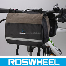Wholesale excellent quality bicycle handlebar polyester cooler bag 11487 polyester bag water bag