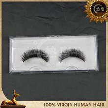 3D volume style siber mink fur strip eyelash, thin and soft band ! customized logo package M1087