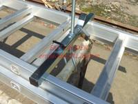 MegaClamps van Ladder Clamps for Dispatch van roof rack, WITH KEY-ALIKE LOCKS
