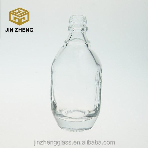 Hot Sale Glass Flint Wine Vodka Bottle Small Size Buy