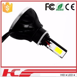 2015 led round motorcycle headlight bulb four sides light h4, h7 for motorcycle