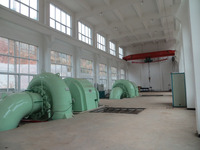 Hot sale Hydro Power water turbine generating unit /4000kw Francuis turbine for Hydropower plant