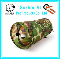 Pet Toy Collapsible Tunnel Crinkle Kitten Fun Camouflage Cat Tunnel