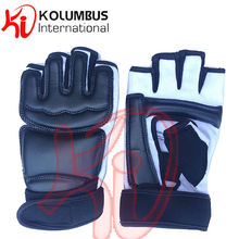 Martial Arts Taekwondo Gloves/Taekwondo Hand Protector, Black Taekwondo Gloves