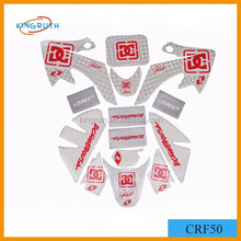 High quality promotional sticker for motorcycle is made in RPC