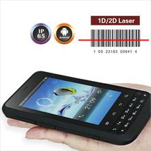 quad core waterproof 1.2m drop safe 1g ram 4g flash rom andorid industrial rfid 2d barcode scanner