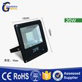 Guangzhou fabricante buena prueba de agua de alto brillo exterior IP65 20 w llevó el reflector