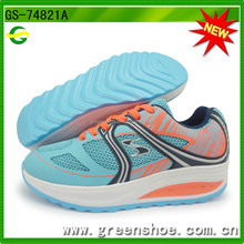 Nature Slimming Shoes With Upper Material Pu+mesh