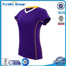 uniforme diseña fútbol de las mujeres al por mayor uniforme del fútbol barato