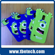 Monsters Mobile phone silicon case 3D silicon rubber case for iphone 6 plus for SAMSUNG