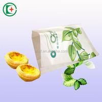 Environmental friendly coated paper bag grease proof exporting food bag