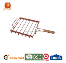 New design BBQ non stick grid barbecue cooking grid meat grid netting