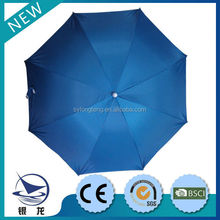 Promotion price special fixed mode outdoor clamp umbrella , beach umbrella