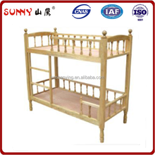 Wholesale kids firm structure bunk bed with stair and strong rail