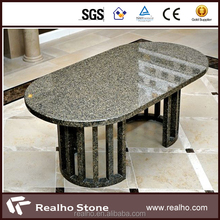 chinese round black granite table top
