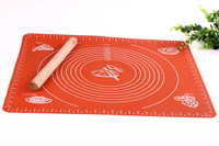 Huge Size Silicone Pad Baking Mat with Marks