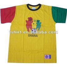 fashion printed children character t-shirts