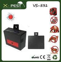 Visson VS-531Aspectek Nite Guard Yard Eco friendly Outdoor Ultrasonic Solar Predator Wild Animal Pig Marten Pest Chaser Repeller