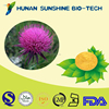 Herbal Extract Silybum Marianum Milk Thistle Extract Powder Help Protect Liver