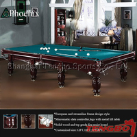 Russian style and UK style snooker equipment pool table lights