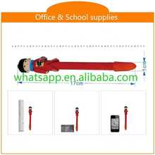 Hot sale new design cheap polymer clay ball pen double-end pen