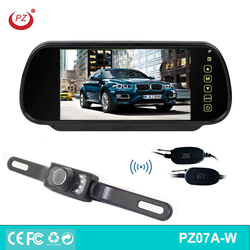 Night Vision 12V DC 2.4G wireless monitor and wireless camera for car