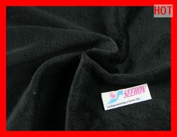 80% cotton 20%polester velvet fabric by yard 230gsm 170cm