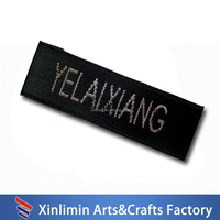 china supplier woven labels for garment brand